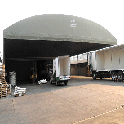 warehouse tent for keeping goods