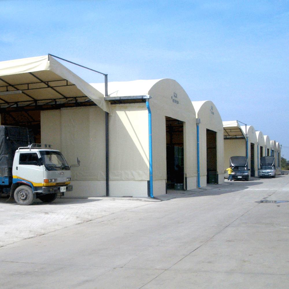warehouse tent thailand